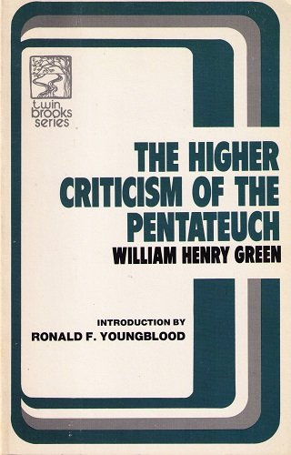 Higher Criticism of the Pentateuch
