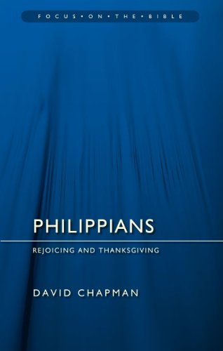 Philippians: Rejoicing and thanksgiving