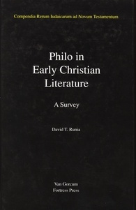 Jewish Traditions in Early Christian Literature: Volume 3: Philo in Early Christian Literature