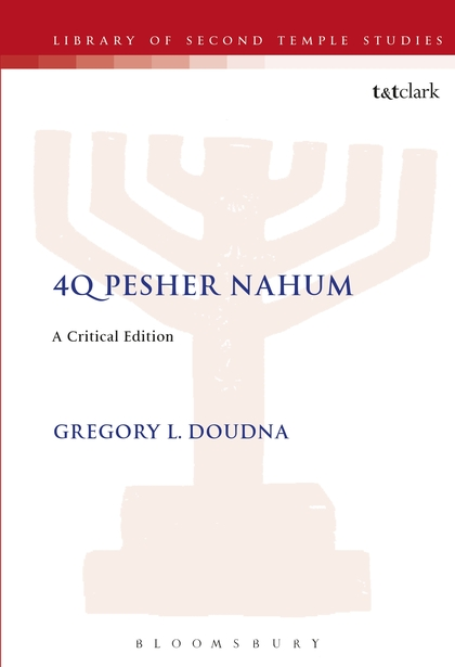 4Q Pesher Nahum: A Critical Edition