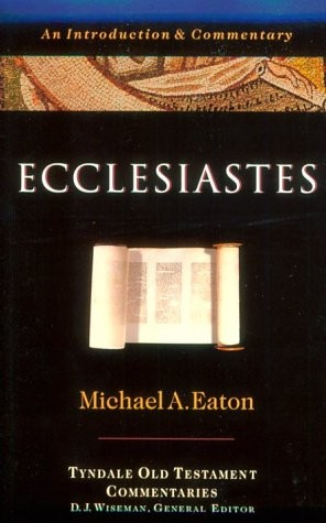 essay book ecclesiastes Information on bible: ecclesiastes by bible the books title bible: ecclesiastes zoom bible: ecclesiastes all essays, research papers.
