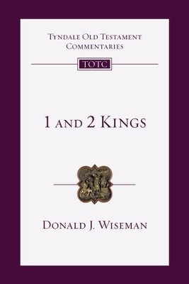 1 & 2 Kings: An Introduction and Commentary