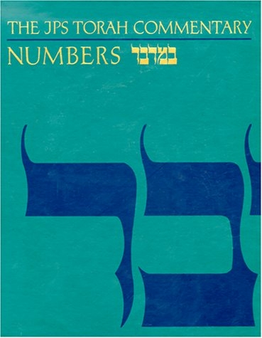 Numbers : The Traditional Hebrew Text With the New Jps Translation