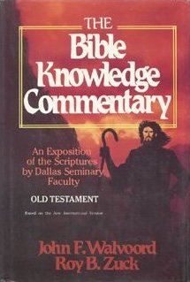 The Bible Knowledge Commentary Old Testament
