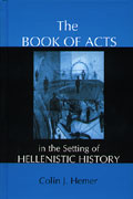 Book of Acts in the Setting of Hellenistic History