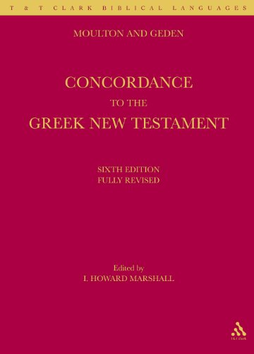 Moulton and Geden: Concordance to the Greek New Testament