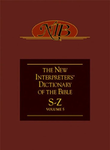 New Interpreter's Dictionary of the Bible Volume 5 - NIDB
