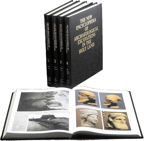 The New Encyclopedia of Archaeological Excavations in the Holy Land (4 voume set)