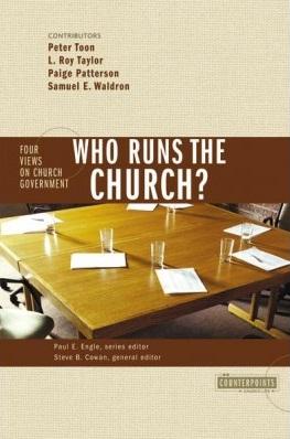 4 Views on Church Government: Who Runs the Church?