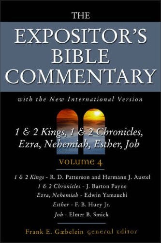 1 & 2 Kings, 1 & 2 Chronicles, Ezra, Nehemiah, Esther, Job