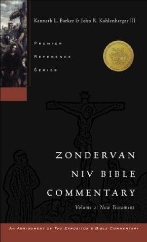 Zondervan NIV Bible Commentary, Volume 2: New Testament