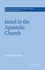 Israel in the Apostolic Church