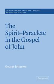 The Spirit-Paraclete in the Gospel of John