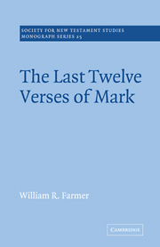 The Last Twelve Verses of Mark