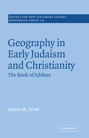 Geography in Early Judaism and Christianity: The Book of Jubilees