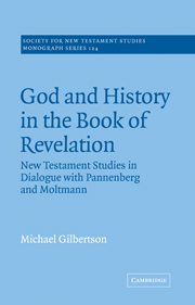 God and History in the Book of Revelation: New Testament Studies in Dialogue with Pannenberg and Moltmann