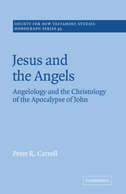 Jesus and the Angels: Angelology and the Christology of the Apocalypse of John