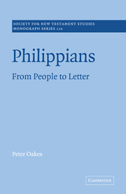 Philippians: From People to Letter