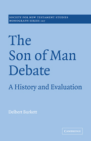 The Son of Man Debate: A History and Evaluation