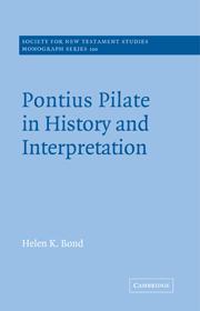 Pontius Pilate in History and Interpretation