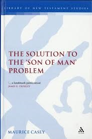 The Solution to the 'Son of Man' Problem
