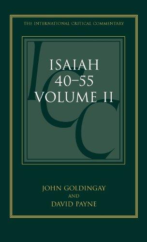 Isaiah 40–55: Volume 2