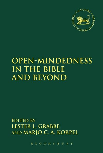 Open-Mindedness in the Bible and Beyond Volume