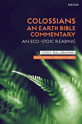 Colossians: An Eco-Stoic Reading