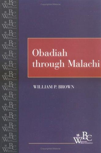 Obadiah Through Malachi