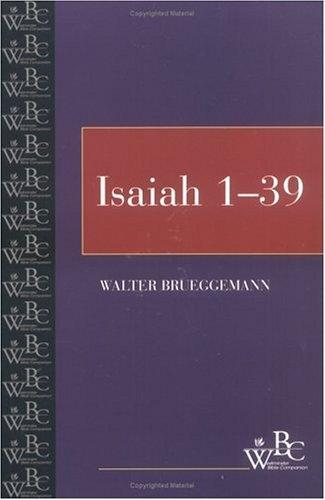 Isaiah: Volume 1 - 1-39