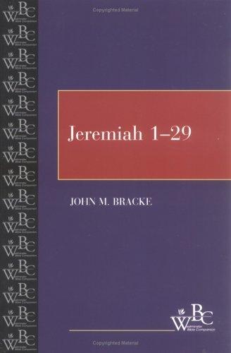 Jeremiah 1-29