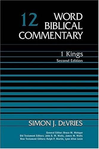 1 Kings (2nd ed.)