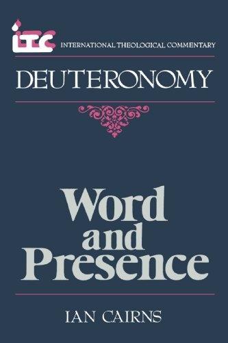 Deuteronomy: Word and Presence