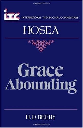 Hosea: Grace Abounding