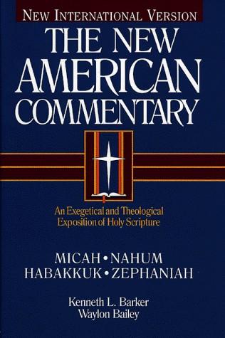 Micah, Nahum, Habakkuk, Zephaniah