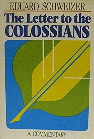 The Letter to the Colossians: A Commentary