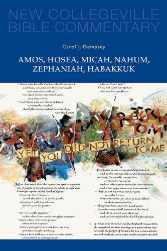 Amos, Hosea, Micah, Nahum, Zephaniah, Habakkuk