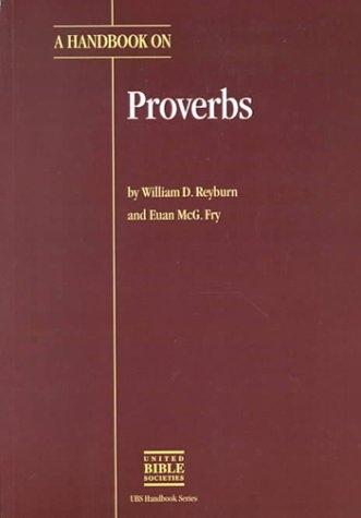 A Handbook on Proverbs