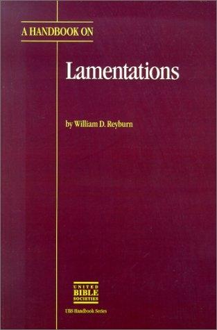 A Handbook on Lamentations