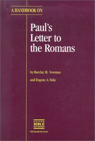 A Handbook on Paul's Letter to the Romans