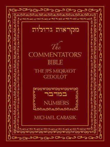 Numbers: The Rubin JPS Miqra'ot Gedolot