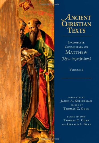 Incomplete Commentary on Matthew: Volume 2