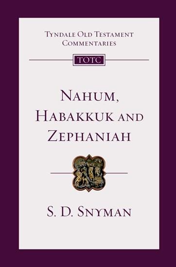 Nahum, Habakkuk and Zephaniah