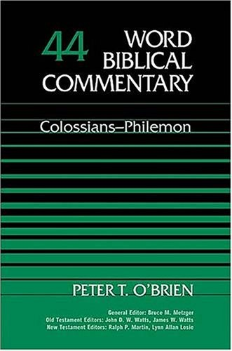 Colossians, Philemon [Plagiarism Acknowledged]