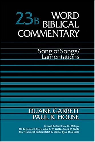 Song of Songs, Lamentations