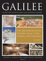Galilee in the Late Second Temple and Mishnaic Periods: Volume 2: The Archaeological Record from Cities, Towns, and Villages