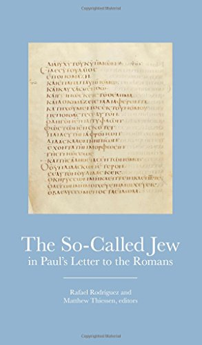 The So-Called Jew in Pauls Letter to the Romans