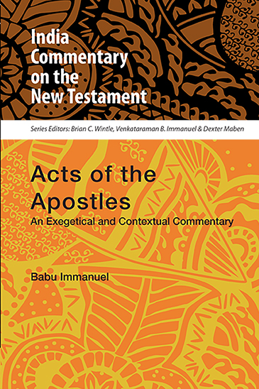 Acts of the Apostles: An Exegetical and Contextual Commentary