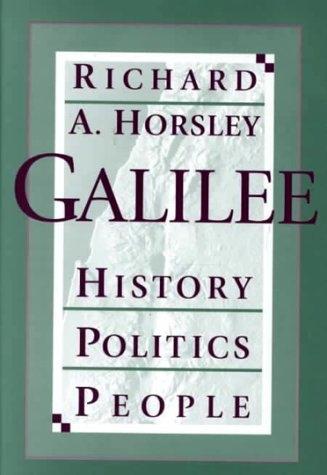 Galilee: History, Politics, People