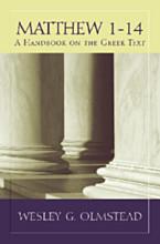 Matthew 1–14: A Handbook on the Greek Text